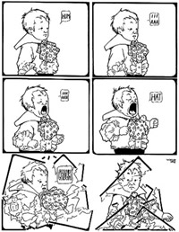 Winsor McCay (1871-1934) Little Sammy Sneeze (1904-1906)
