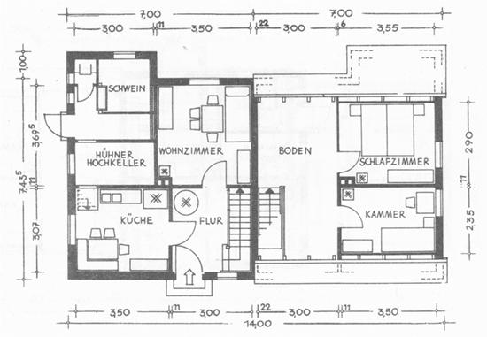 Планировка дачного участка - как зонировать (схемы)