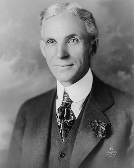 Henry Ford in 1919(?). Prints and Photographs Division, Library of Congress