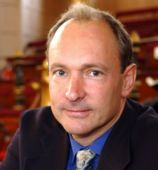 "Sir Timothy John ""Tim"" Berners-Lee, the inventor of the world wide web and director of the World Wide Web Consortium"