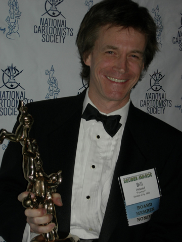 BILL AMEND (USA), Reuben Awards 2007 and Cartoonist of The Year for 2006. Prix d'argent (Silver Prize) Wuacademia 2008.