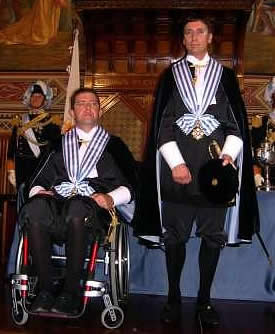Mirko Tomassoni and Alberto Selva: Captains Regent of the Most Serene Republic of San Marino (1st October 2007 - 1st April 2008)